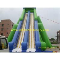 Quality Hippo Inflatable Water Slide , Inflatable Dry Slides Hippo Inflatable Commercial Slide For Kids And Adults wholesale