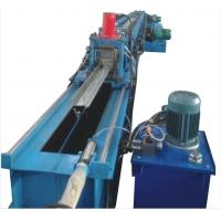 China Building Material Rolling Shutter Door Roll Forming Machine 5.5KW Main Motor Power on sale