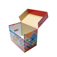 Quality Double Wall Corrugated Boxes CMYK Printing Hot Stamping ODM Service wholesale