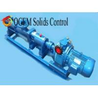 Quality decanter centrifuge screw pump,solids control screw pump wholesale