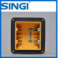 Cheap Two gang ul certificate plastic outlet electrical wiring boxes with covers for sale