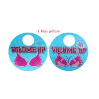 Cheap 3D Flip Changing Hangtags Lenticular Printing Services Swing Tag for Clothes for sale