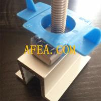 Quality aluminum solar mid clamp for solar panel system wholesale