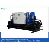 China 30 tons Package Water Cooled Scroll Chiller with Copeland R410A R407c Compressor on sale