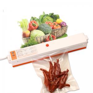 China 100W Food Vacuum Sealer Packaging Machine , Household Vacuum Packer AC110V AC220V on sale