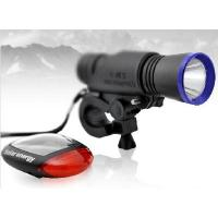 China LED Bicycle Light Set with Solar Rear Light on sale