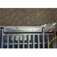 Cheap Hinge / Bolt Steel Grate Drain Cover Simple Lines For Sewage Treatment Plant for sale