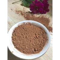 Quality NF02 Dark Brown Natural Low Fat Cocoa Powder 4%-8% Fat Content , 5.0-5.8 PH Value wholesale