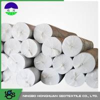 Quality Environmental Needle Punched Non Woven Geotextile Fabric 13.0kN/M Tensile Strength wholesale