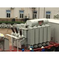 China Dry Type Mobile Transformer Substation 110kv Gis Ais Substation Low Loss on sale