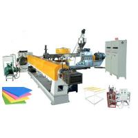 China automatic xps insulation panels making machine with twin screw on sale