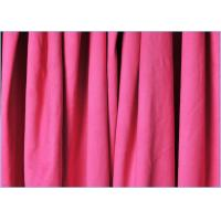 Quality Needle Plain Dyed Synthetic Suede Polyester Microfiber Fabric for Rain Wear , Sportswear wholesale