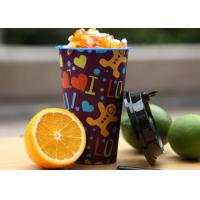 China 500ml 3D Lenticular Cup UV Printing Food Grade And Recyclable In Mold Labeling on sale