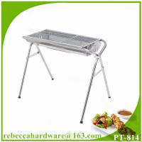 China Outdoor leisure picnic stainless steel charcoal barbecue grill on sale