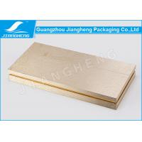 Buy cheap Hot Stamping Cosmetic Packaging Boxes Gold Gift Environmentally Friendly Packaging product