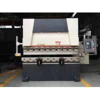 China 30T Hydraulic Press Brake Machine Customized Color With 1600mm Length Worktable on sale