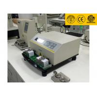 Quality LCD Displays ASTM D5264 Ink Rub Test Machine , Professional Abrasion Testing Machine wholesale