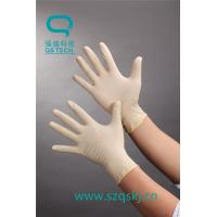 Quality Industrial latex gloves that can be bought on the Internet with a good quality of a latex material wholesale
