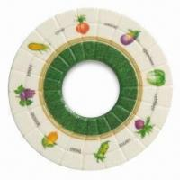 Quality Plastic Coaster, Made of Melamine, Available in Various Designs, Customized Artworks are Accepted wholesale