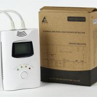 Quality Combi carbon monoxide and natural gas leak alarm monitor for home use wholesale