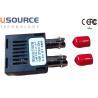 Buy cheap 1000 Base-Bx Gigabit 1 X 9 Optical Transceiver Duplex ST SC FC Connector from wholesalers