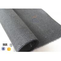 Cheap 600g Thermal Insulation Materials Black Vermiculite Coated Fiberglass Fabric for sale