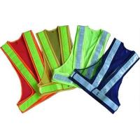 Buy cheap 100% Polyester Fabric Reflective Safety Vests With Zipper EN20471 & CE Standard product