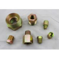 Quality Male and Female Thread Hydraulic NPT Thread Adapters Zinc Plated Carbon Steel wholesale