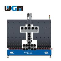 10KW Glass Processing Machines , Glass Loading Table PLC Control System