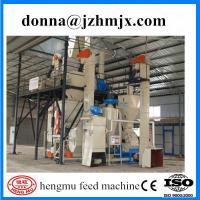 Quality Ex-factory high productivity pig feed production line/animal feed pellet production line wholesale