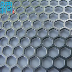 China perforated mild steel sheet metal on sale