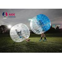 Quality Water Walking Floating Roller Body Zorb Ball For Pool Games , Clear Inflatable Ball wholesale