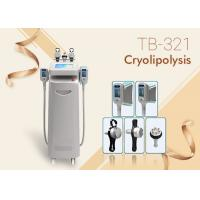 Quality 5 Handles RF Ultrasound Cavitations Fat Freezing Cool Sculpting Cryolipolysis Machine wholesale