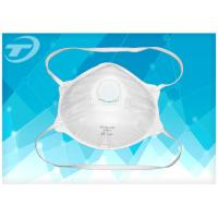 Quality FFP 3 Disposable Industrial Face Mask With Valve , Soft Polypropylene wholesale