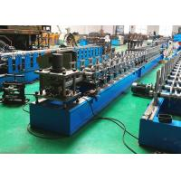 Quality Roller Shutter Door Guide Track Roll Forming Machine With Low Cutting Burr wholesale