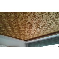 Quality Wall Art 3D Living Room  Wallpaper , Fashion Ceiling Mural Wall Tiles for Hotels or Restaurant wholesale