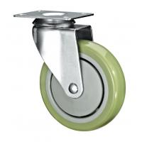 """Quality 5"""" Polyurethane PU Caster Wheel Swivel For Case Carts And Utility Carts wholesale"""