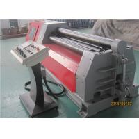 China CNC 4 Roll Plate Bending Roller Machine , 16×2000 42CrMo Bending Machine For Pipe on sale