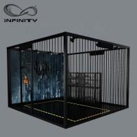 Quality Black Color VR Gaming Platform 9D VR Simulator Four People 12 Month Warranty wholesale