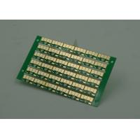 Quality Golden Finish Single Sided PCB FR4 Green Soldermasking 1oz Copper wholesale
