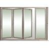 Buy cheap Toughened Collapsing Sliding Glass Doors / Bi Folding Sliding Doors from wholesalers