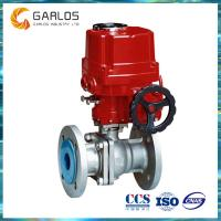 Quality Q941F Electric/ Hand wheel double actuated floating ball valve wholesale