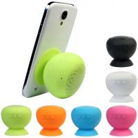 China Top quality Wireless Colorful Sucking Mushroom Bluetooth Speaker with MIC on sale