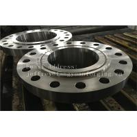 Quality ASME B16.5 WN A350 LF6 Forged Carbon Steel Flange With Nice Packing Or Un-standard Flange wholesale
