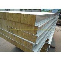 China Anti Oxidation Metal Roof Panels Steel Structure Insulated Wall Panels on sale