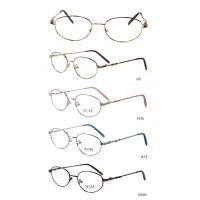 Quality Pink Stainless Steel Optical Frames For Women , Round Retro Style wholesale