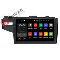 Quality 1024*600 Honda FIT Car Stereo Multimedia Player System 10.1 Inch Support TPMS wholesale