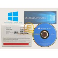 Buy cheap Microsoft Windows Server 2016 R2 Datacenter CD DVD Version OEM New Key from wholesalers