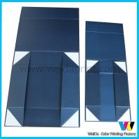 Quality Matt Finish Surface Collapsible Retail Packaging Boxes with Strong Magnetic Closure wholesale