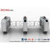 China RFID Automatic Swing Barrier Gate Smart Arm Revolving Door Security Access Control Turnstile on sale